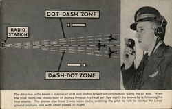 In Flight with United Air Lines, Dot-Dash-Zone - Radio Station
