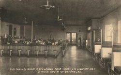 Greyhound Post House - Bus Dining Room