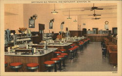 Greyhound Bus Terminal and Restaurant