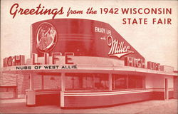 1942 Wisconsin State Fair- Miller High Life Bar