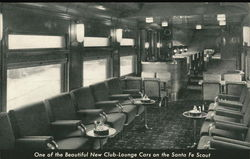 Santa-Fe Scout - Club-Lounge Car