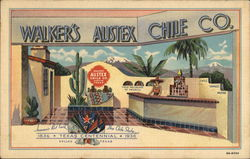 Walker's Austex Chile Co. - Texas Centennial Exposition, Dallas 1936