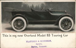 Overland Model 83 Touring Car, Flanders & Mossman