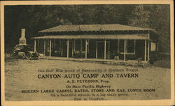 Canyon Auto Camp and Tavern