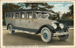 Gray Line Motor Tours Coach De Luxe for Mt. Vernon, VA