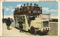 Double Deck Motor Bus, Chicago, IL