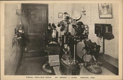 Visual Analysis Room, Dr. Ernest J. Bush