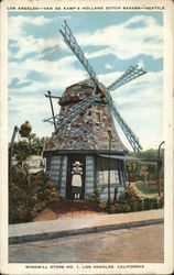 Windmill Store No. 1 - Van de Kamp's Holland Dutch Bakers