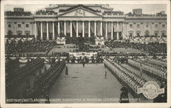 Wwest Point Cadets and Naval Academy Midshipmen at Inaugural Ceremonies March 4, 1913