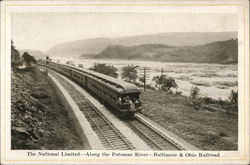 The National Limited - Potomac River, Baltimore & Ohio Railroad