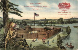 The Packard Co., Established 1871 - Fort Wayne, Erected by Gen. Anthony Wayne in 1794