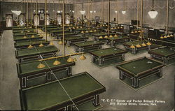 Carom and Pocket Billiard Parlors