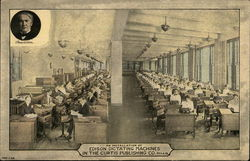 Curtis Publishing Co. - Edison Dictating Machines