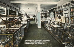 Royal Bakery and Confectionery showing Pearce's Candy Department