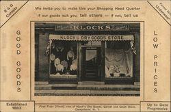 Klock's Dry Goods Store