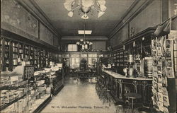 W. H. McLanahan Pharmacy Postcard