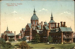 Johns Hopkins Hospital Postcard
