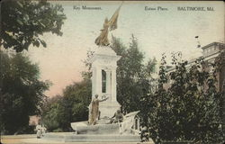 Key Monument, Eutaw Place