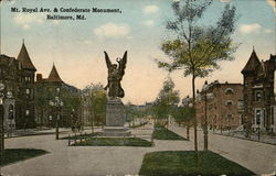 Mt. Royal Avenue and Confederate Monument
