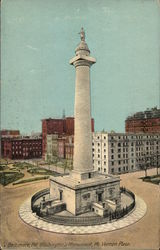 Washngton's Monument, Mt. Vernon Place