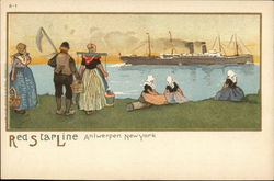 Red Star Line - Antwerp to New York