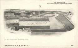 The Moat and Ramparts of Fort Monroe