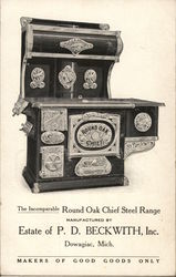 Round Oak Chief Steel Range, Estate of P. D. Beckwith, Inc.