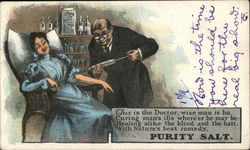 Purity Salt - Doctor Giving Shot to Female Patient