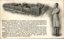 Paul J. Risedorf Runner Remington Typewriter Factory
