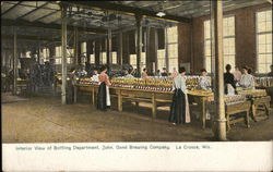 Gund Brewing Company - Bottling Department