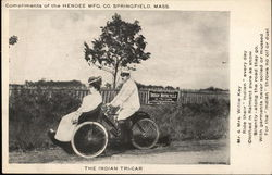 Hendee Mfg. Co. - The Indian Tri-Car, Springfield, MA