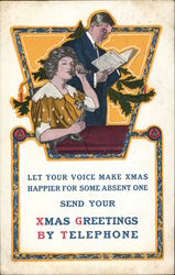 Send Your Xmas Greetings by Telephone