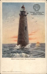 Minot Ledge Light, Boston Harbor