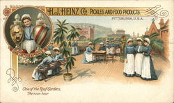 H. J. Heinz Co. - Roof Garden, The Noon Hour