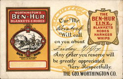 Worthington's Ben-Hur Blankets & Robes