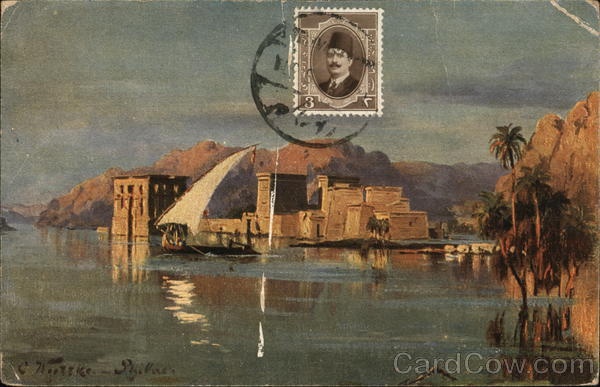 Philae in the morning. Egypt Africa Cancelled on Front (COF)