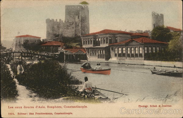 Les eaux douces d'Asie, Bosphore, Constantinople. Turkey