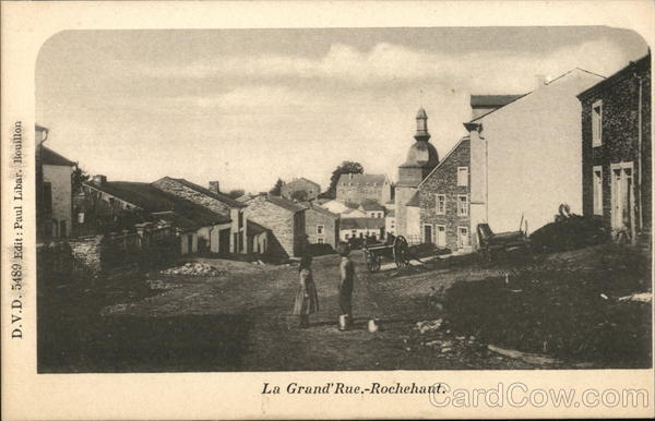 La Grand'Rue.-Rochehaut. Bouillon France