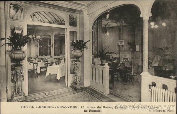 hotel londres new york paris france. Black Bedroom Furniture Sets. Home Design Ideas