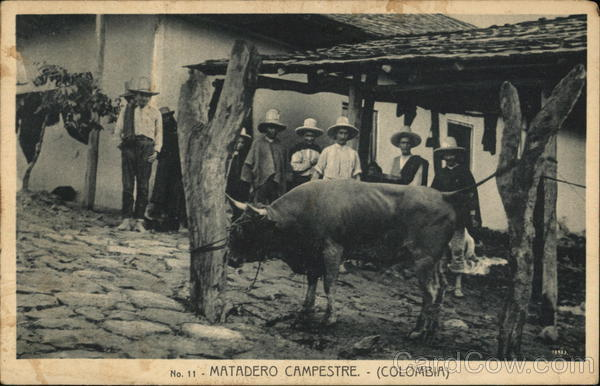 Matadero Campestre Colombia South America