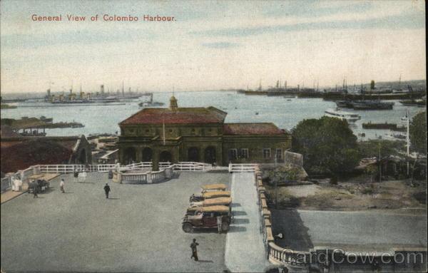 General View of Colombo Harbour. Sri Lanka Southeast Asia