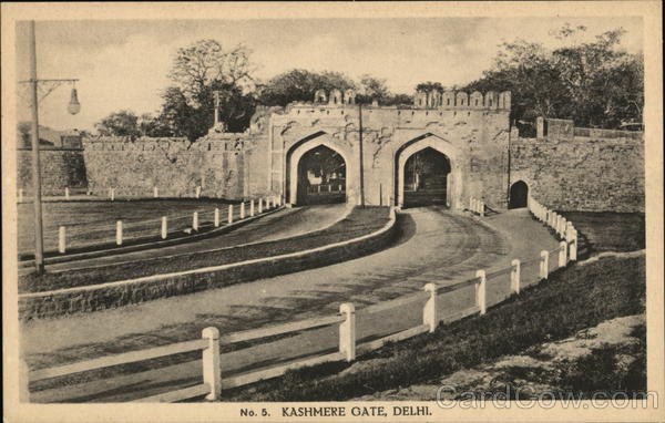 Kashmere Gate, Delhi India