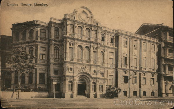 Empire Theatre, Bombay. India Clifton