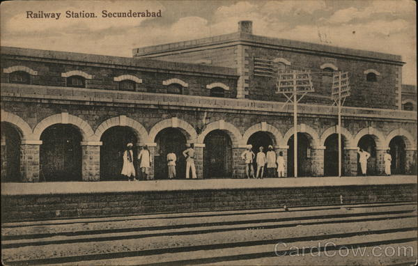 Railway Station, Secunderabad India