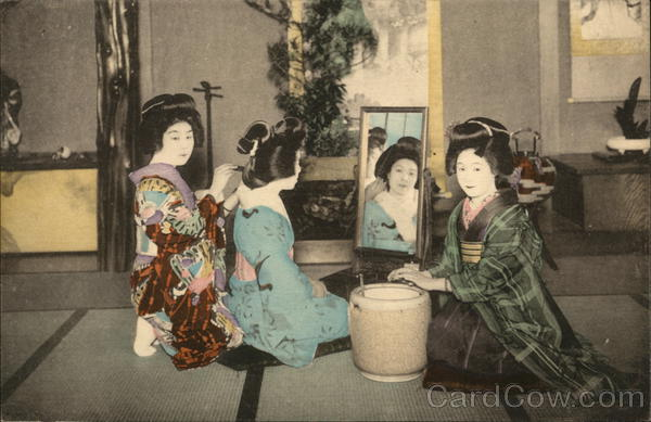 Arranging the Coiffure Japan
