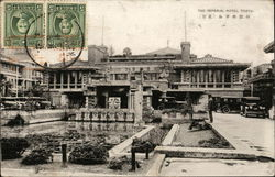 Imperial Hotel Mailed from Canton China Postcard