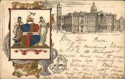 Council House Postcard