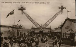 The Revolving Flip Flap, Latin British Exhibition