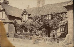 Period Cottage Frontage Postcard