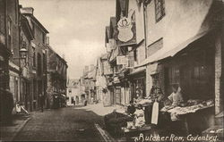 Butcher Row Postcard